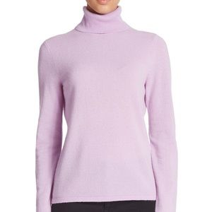 100% CASHMERE TURTLENECK / LORD & TAYLOR